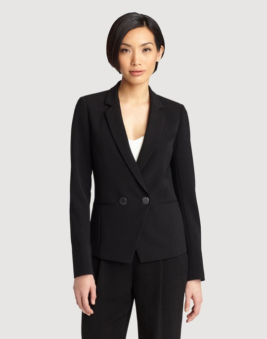 Sleek Tech Cloth Brandt Jacket