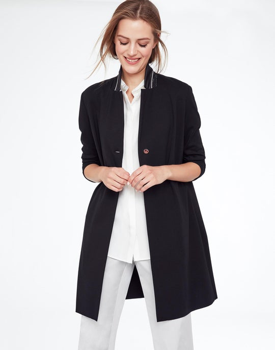 Plus-Size Modern Modal Labelle Jacket