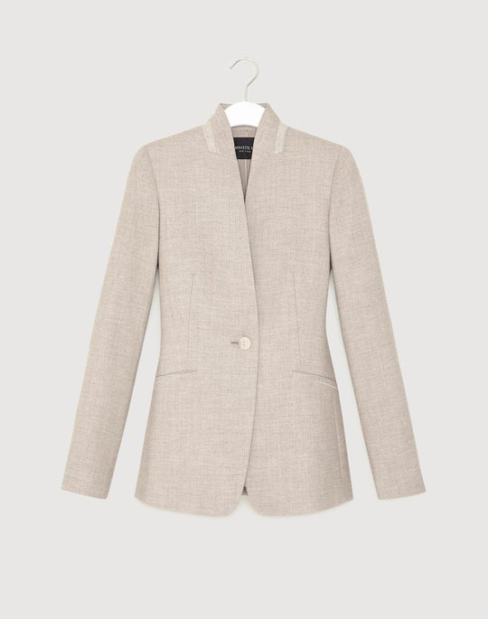 Stardust Wool Suiting Darcy Jacket