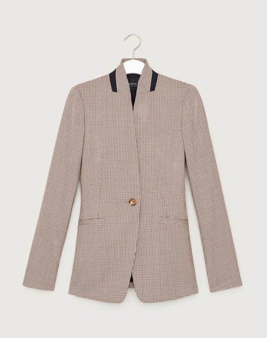 Haberdashery Mini Check Darcy Jacket