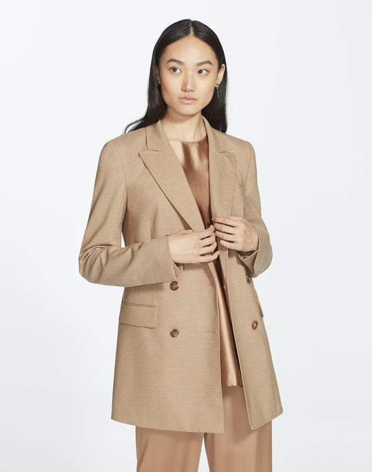 Petite High Line Suiting Slade Jacket