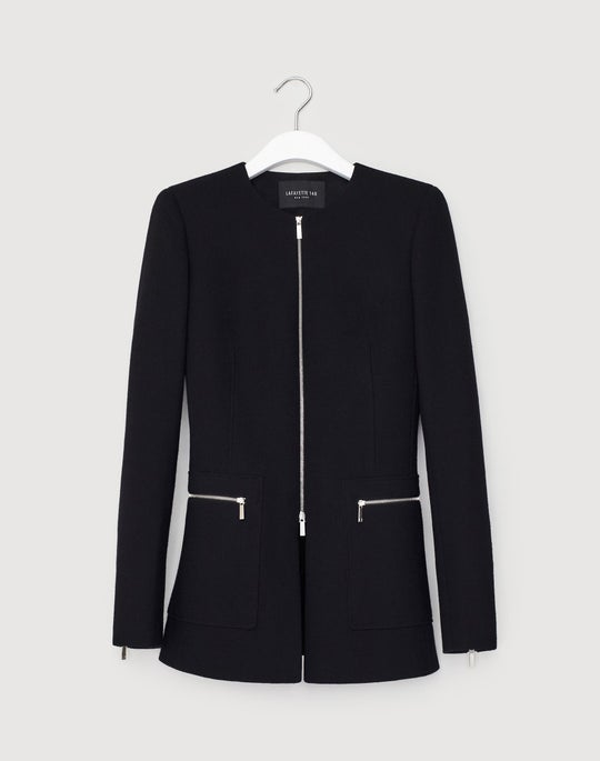 Nouveau Crepe Landon Jacket