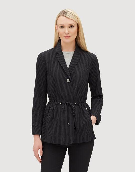 Petite Sander Stripe Porsha Jacket