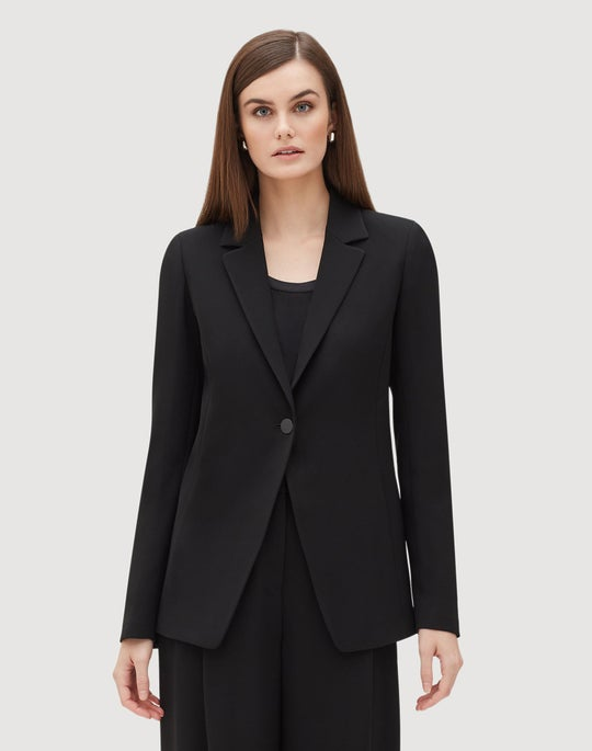Finesse Crepe Carrie Blazer