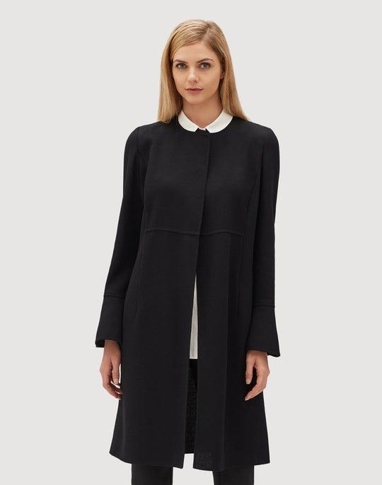 Plus-Size Nouveau Crepe Russo Jacket