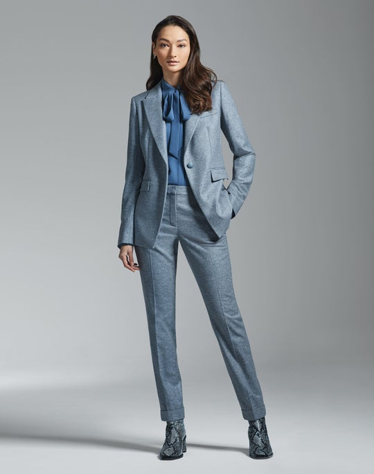 Heather Jacket and Cuffed Clinton Pant