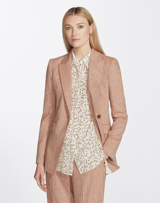 Speckled Herringbone Heather Jacket
