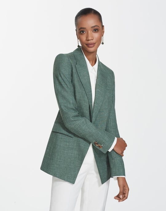 Marled Cloth Heather Jacket