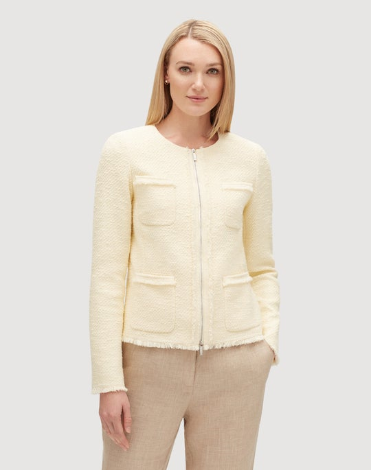 Petite Burano Boucle Weave  Benji Jacket