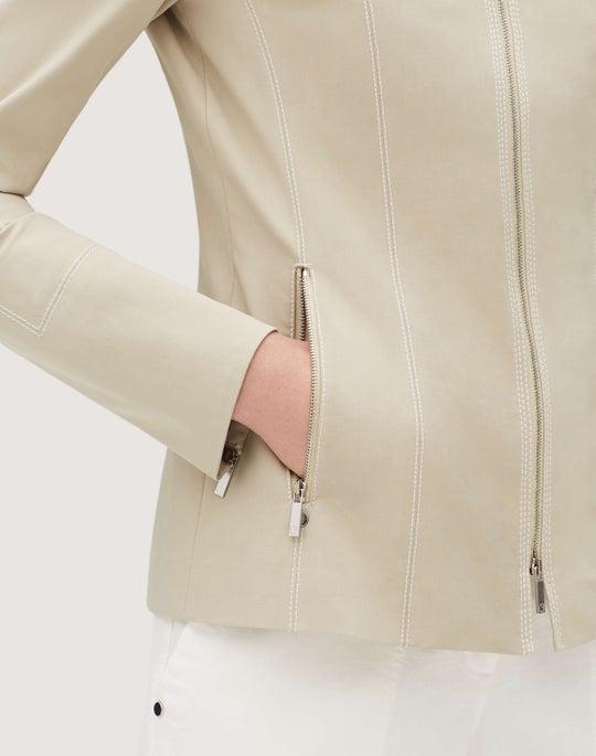 Plus-Size Fundamental Bi-Stretch Janella Jacket