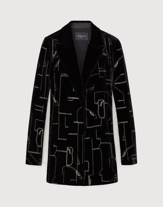 Classic Velvet Sivan Jacket