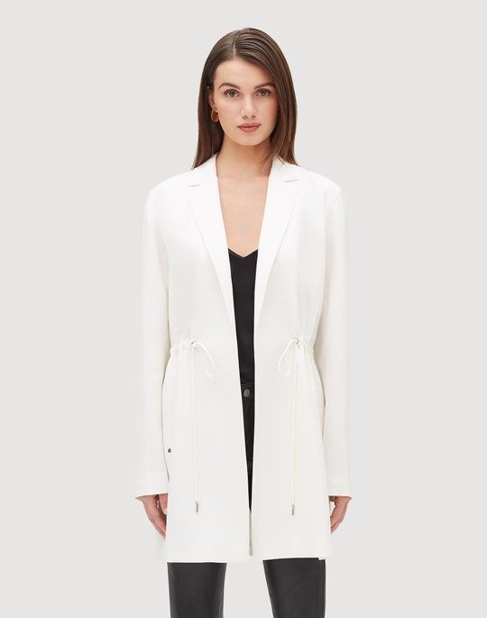 Finesse Crepe Pierre Jacket