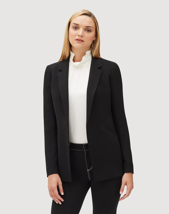 Petite Finesse Crepe Luther Jacket