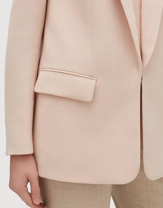 Petite Finesse Crepe Langley Jacket