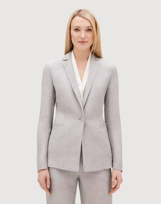 Plus-Size Stylistic Suiting Samson Jacket