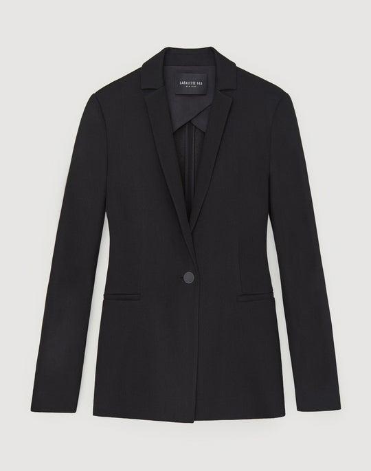 Plus-Size Quantum Wool Gauze Samson Jacket