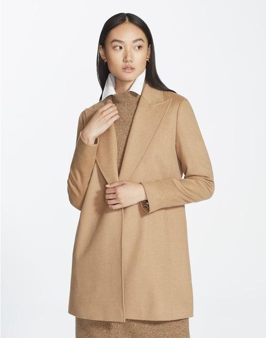 Plus-Size Camel Hair Kourt Jacket