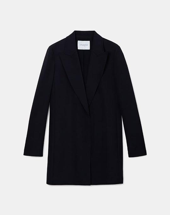 Kourt Jacket In Luxe Stretch Crepe De Chine