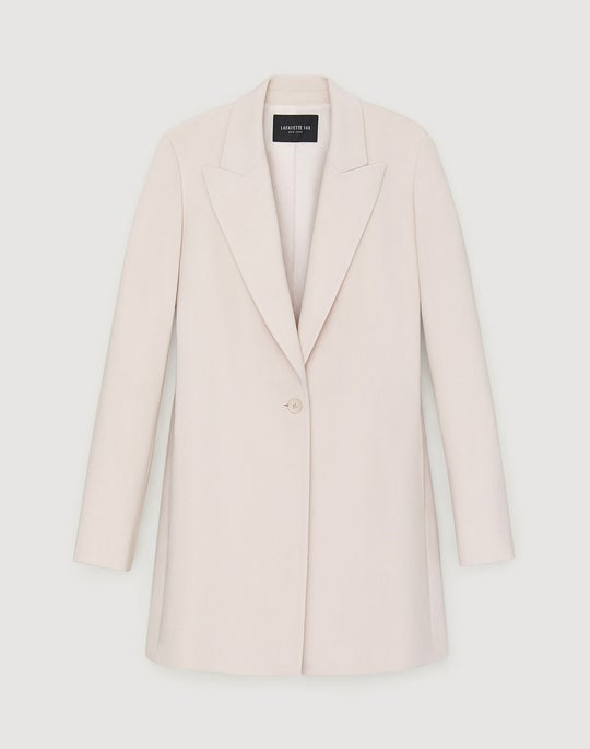 Surrealist Double Face Wool Kourt Blazer