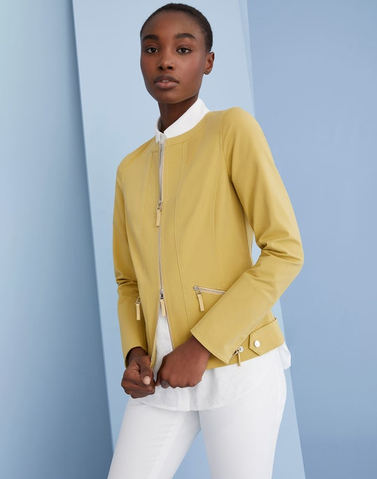 Cairo Jacket and Step Hem Manhattan Pant
