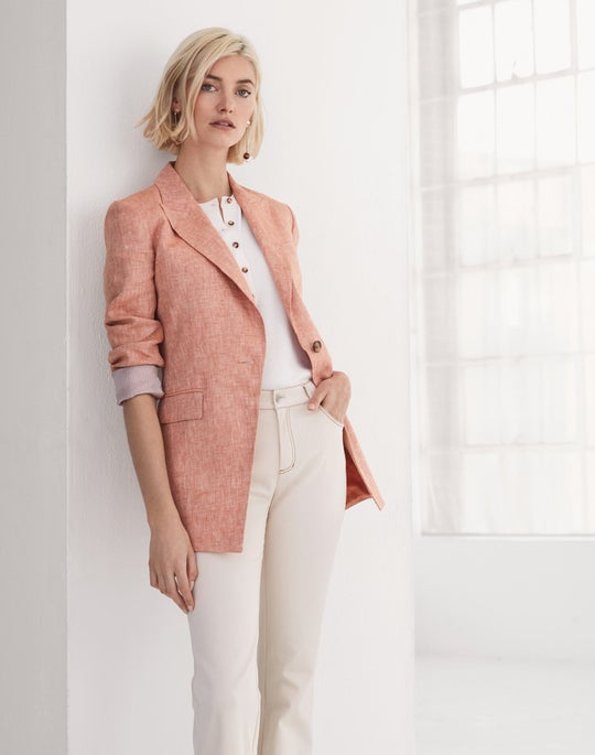 Atticus Blazer and Mercer Flare Jean