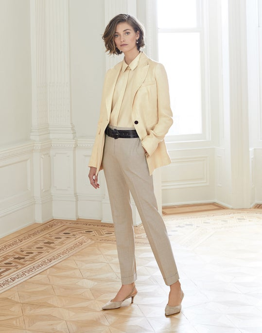 Atticus Blazer and Clinton Cuffed Pant