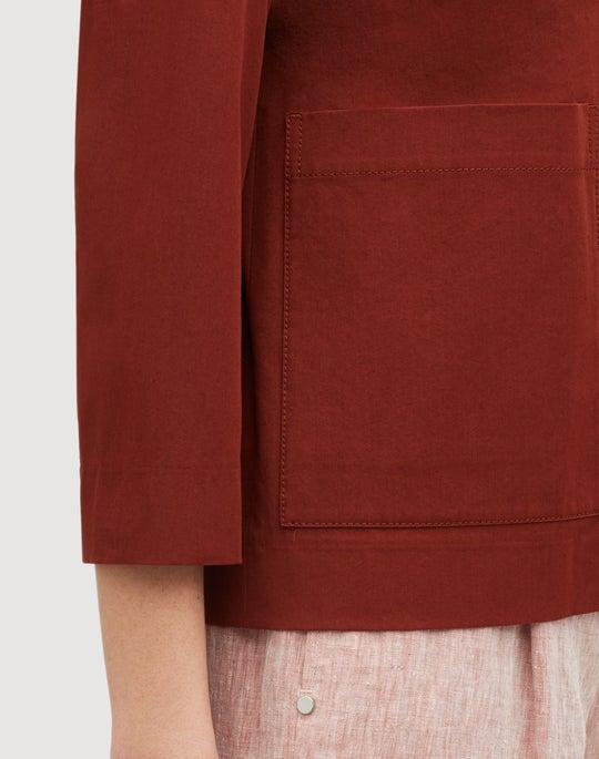 Italian Bi-Stretch Pima Cotton Layken Jacket