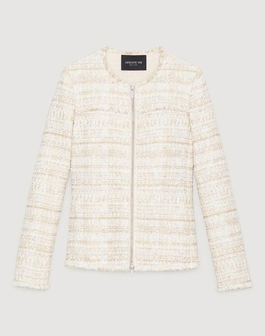 Petite Artful Tweed Dash Jacket