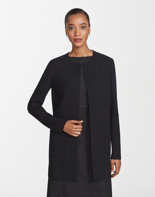 Nouveau Crepe Rowena Jacket