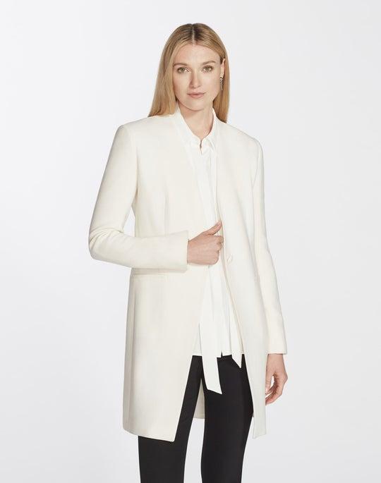 Plus-Size Nouveau Crepe Maren Jacket