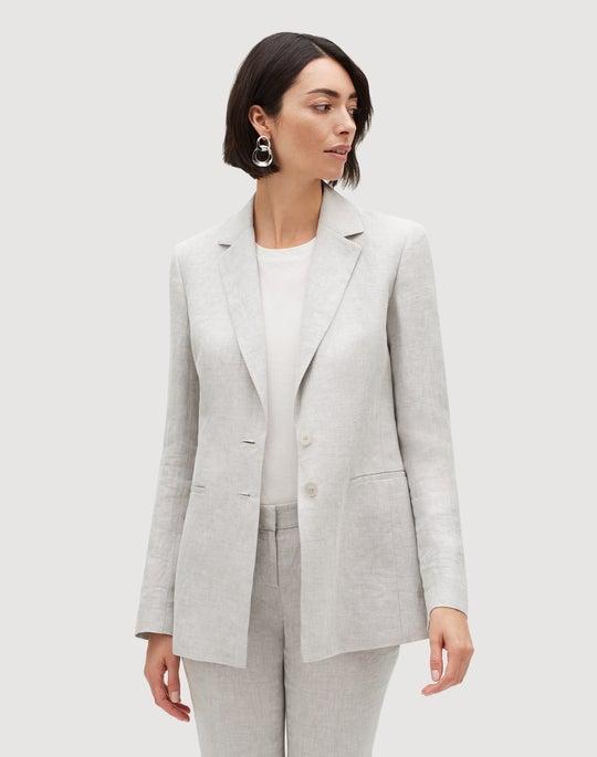 Aurora Linen Cloth Genova Blazer
