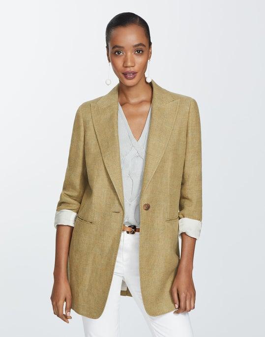 Moda Linen Beau Blazer