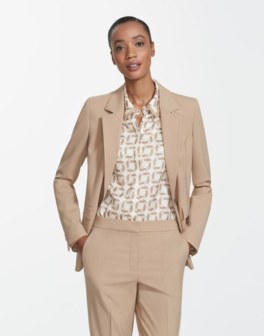 Petite Italian Stretch Wool Trixie Jacket