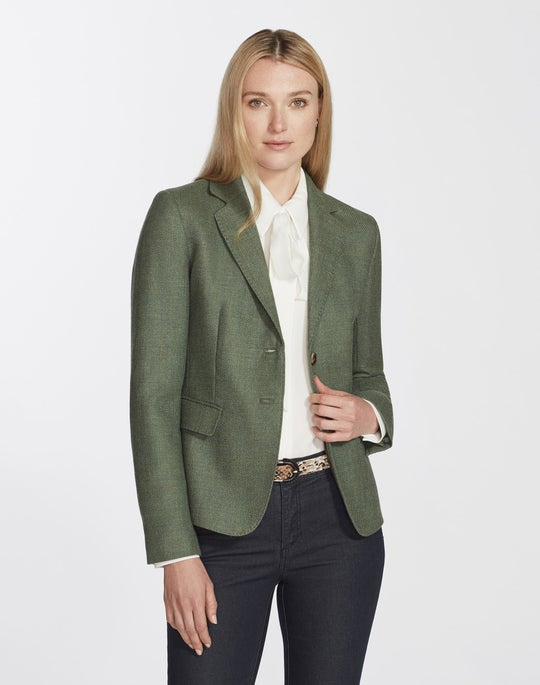 Euphoric Mélange Cloth Thatcher Blazer