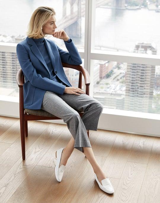 Nazelli Jacket and Cropped Manhattan Flare Pant