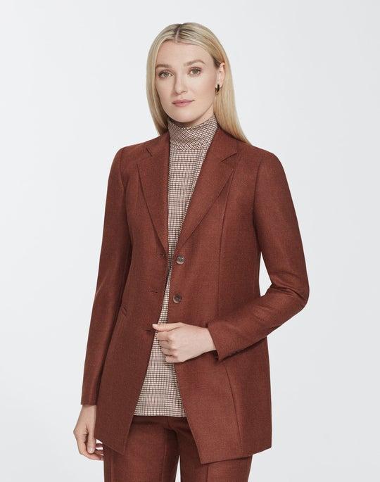 Euphoric Melange Cloth Jaqueline Blazer