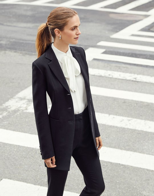 Jaqueline Blazer and Cuffed Clinton Pant