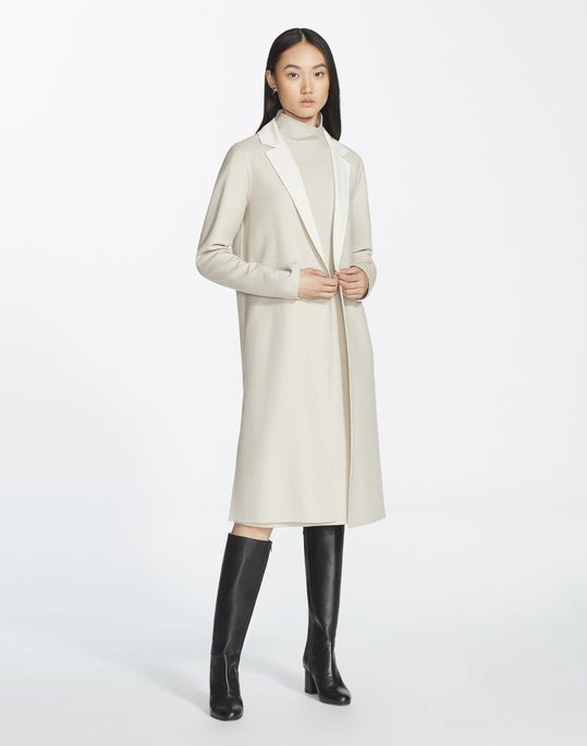 Distinctive Italian Wool Reversible Bryce Jacket