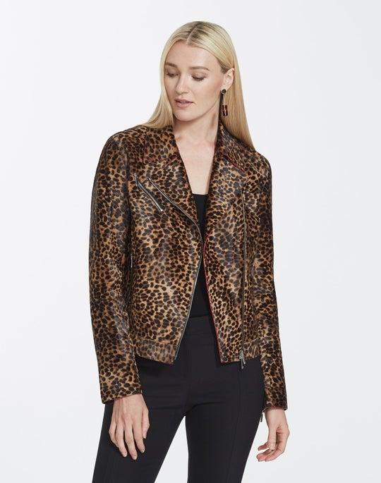 Cheetah Calf Hair Bernice Jacket