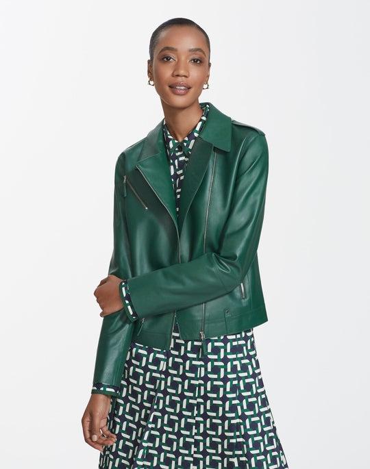 Plonge Lambskin Bernice Jacket