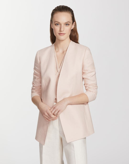 Plus-Size Lavish Linen Miranda Jacket