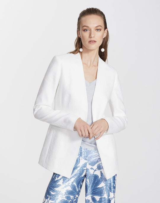Petite Lavish Linen Miranda Jacket