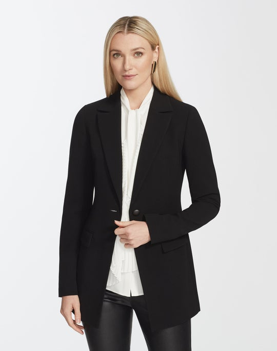 Finesse Crepe Frey Jacket