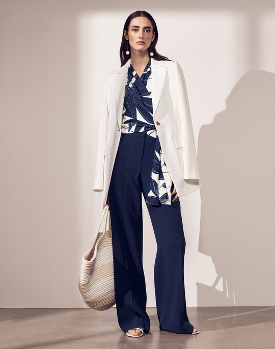 Frey Jacket and Dalton Wide Leg Pant