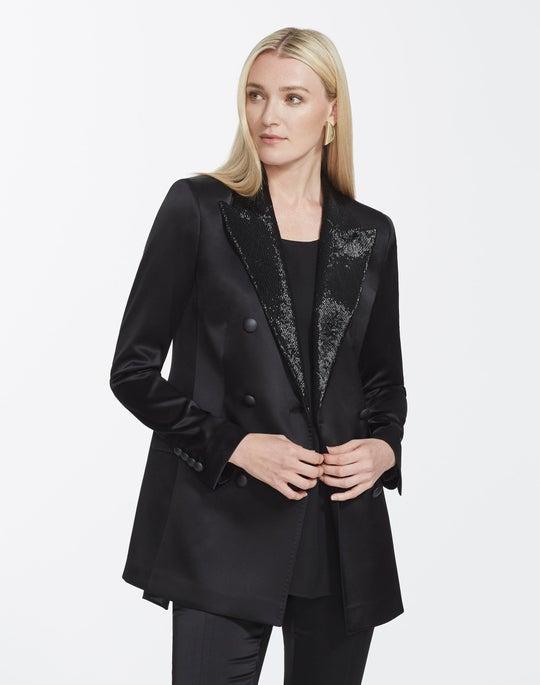 Reverie Satin Cloth Saxon Jacket