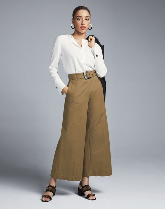 Clifford Blazer and Rockefeller Cropped Pant