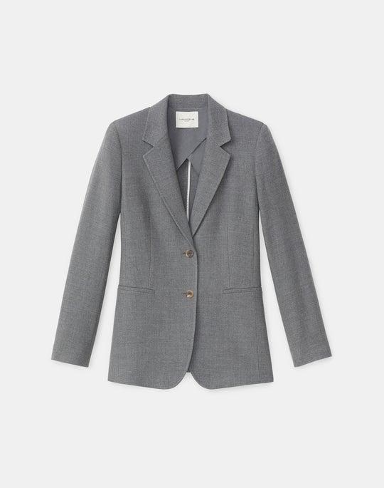 Petite William Blazer In Italian KindWool Suiting