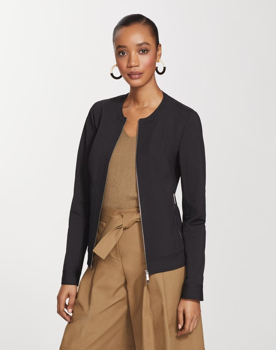 Petite Fundamental Bi-Stretch Kyle Jacket