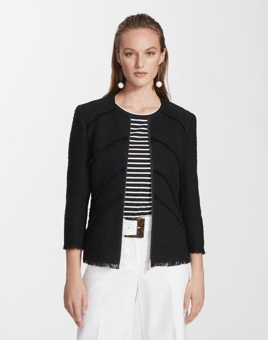 Petite Burano Boucle Weave Reynolds Jacket