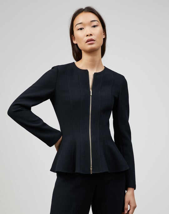 Petite Nouveau Crepe Katia Jacket
